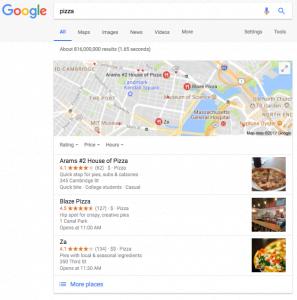 Những cập nhật mới của Google tháng qua