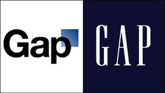GAP đổi logo vào ngày 4 tháng 10 năm 2010