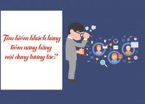 Tìm kiếm khách hàng tiềm năng bằng nội dung tương tác