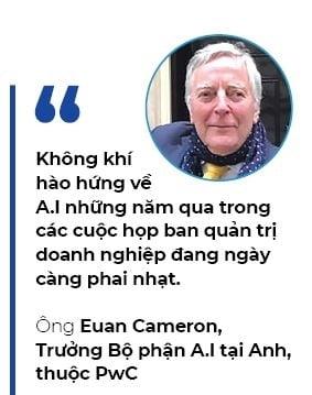 Euan Cameron - trưởng bộ phần A.I PwC tại Anh
