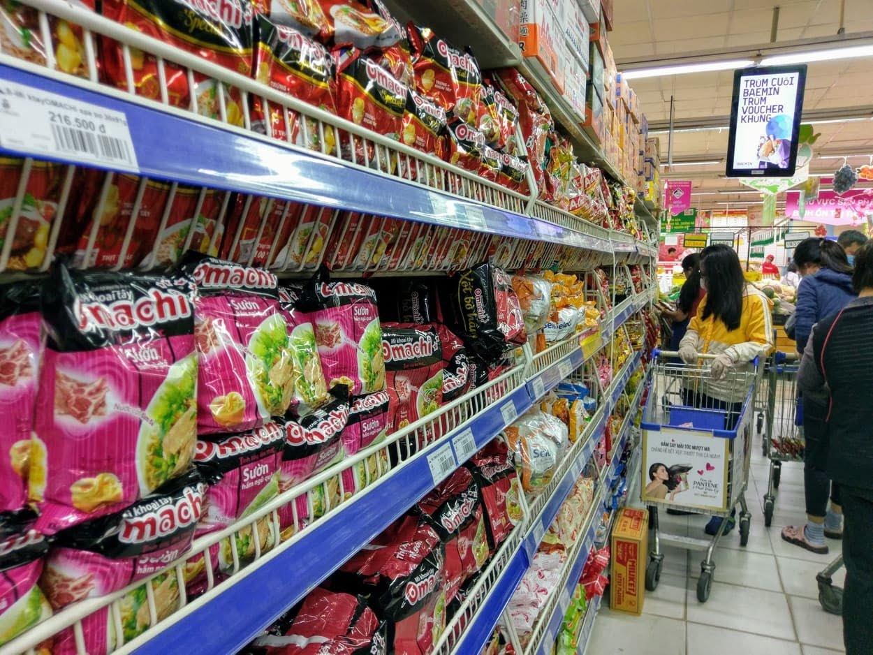 bán lẻ sụt giảm trong đợt dịch